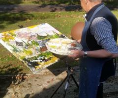 Midzomerworkshop Landschap schilderen