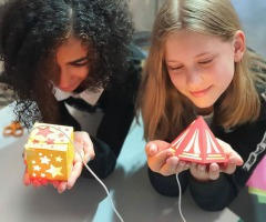 High Tech workshops: Lasercut je eigen lamp (9-12 jaar)