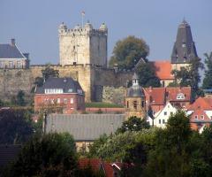 Fietstocht Bad met gids naar Bad Bentheim