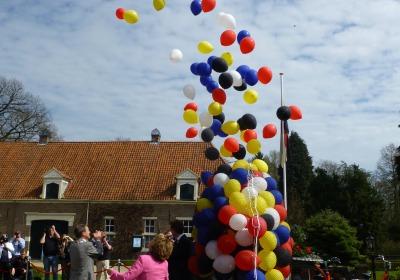 H.K.H. Prinses Margriet der Nederlanden opent Duits-Nederlandse Oranjefietsroute