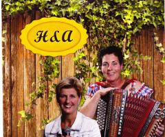 Duo H&A bij eetcafé Bolscher in Vasse