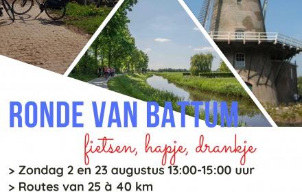 Ronde van Battum ( Kaartverkoop  online, max 100 pers.)