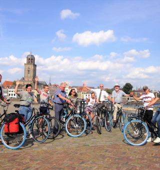 Eigenwijze fietstoer met gids