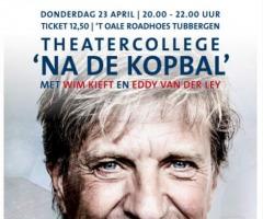 Wim Kieft - theatercollege 'na de kopbal'