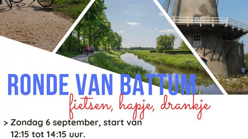 Ronde van Battum (max 100 pers online inschrijven)