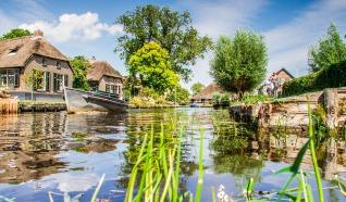 Giethoorn waterdorpen wandeling