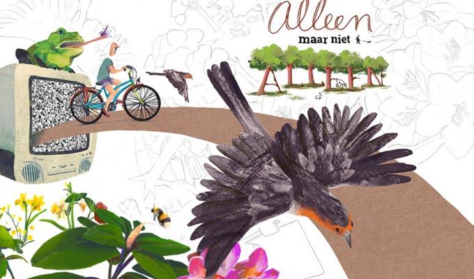 Tentoonstelling 'Alleen maar niet alleen' van Rashel Alberts