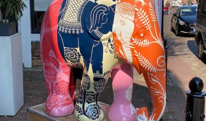 Elephant Parade, ook De Lutte doet mee!
