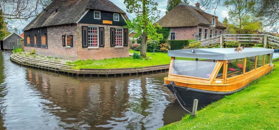 Rondvaart in Giethoorn