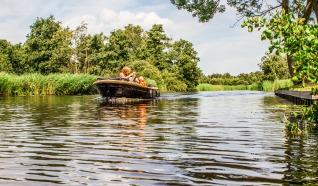 Tewaterlatingsplek - Jachthaven Beulaeke