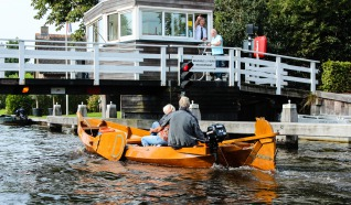Tewaterlatingsplek - Jachthaven Aan 't Wiede