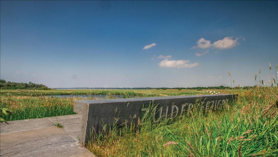 Een blik op de Zuiderzee