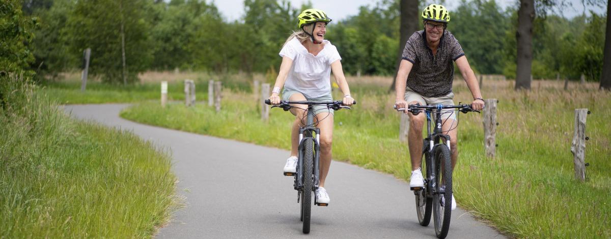 Radfahren im Knotenpunktsystem