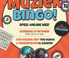Muziekbingo online met 't Raedthuys Losser