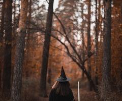 Halloween herfstwandeling