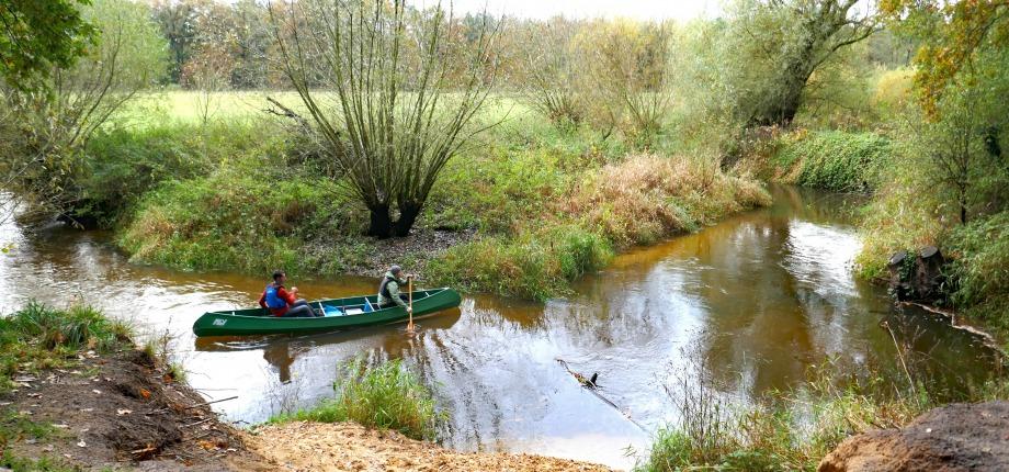 Kanoën op de Dinkel