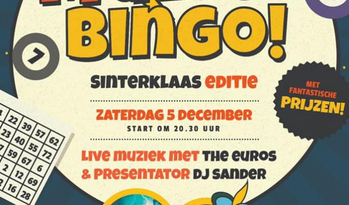 De grote Raedthuys Sinterklaas Muziekbingo