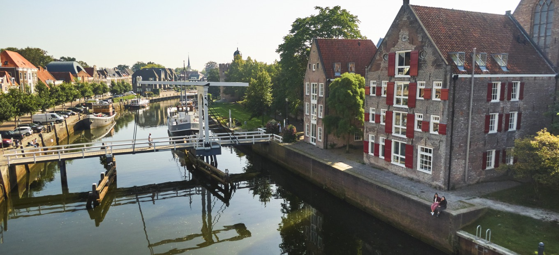 De Thorbeckegracht in Zwolle