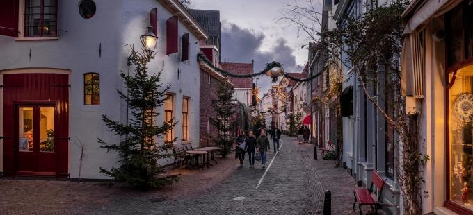 Bergkwartier in kerstsfeer