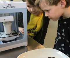 (AFGELAST) High Tech workshop 3D chocolade printen
