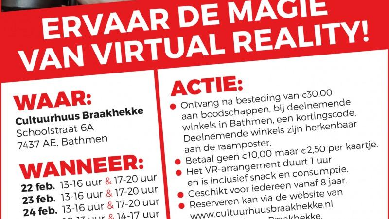 Ervaar de magie van Virtual Reality