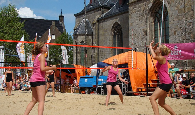 Afgelast   Beachvolleybal op de markt