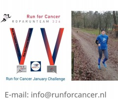 Run for cancer January Challenge