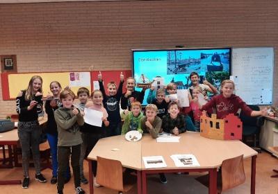Ontwerpwedstrijd kinderen De Rolpaal