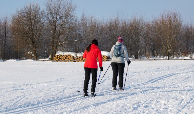 Wintersporten in Wierden