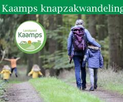Kaamps knapzak wandeling