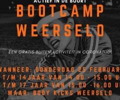 Bootcamp & voetbal mix toernooi Weerselo & Saasveld