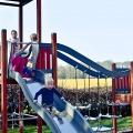 Buitenspeeltuin voor kinderen