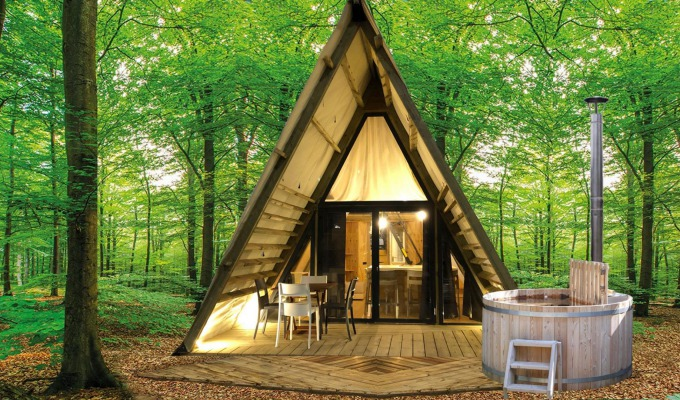 Glamping bij Papillon Country Resort