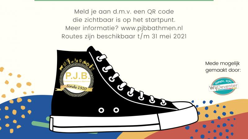 PJB wandeling met QR codes is verlengd tot 14 juni