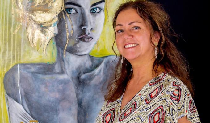 Ingrid Pegge opent eigen kunstgalerie in Ootmarsum
