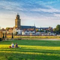 Picknicken bij de IJssel
