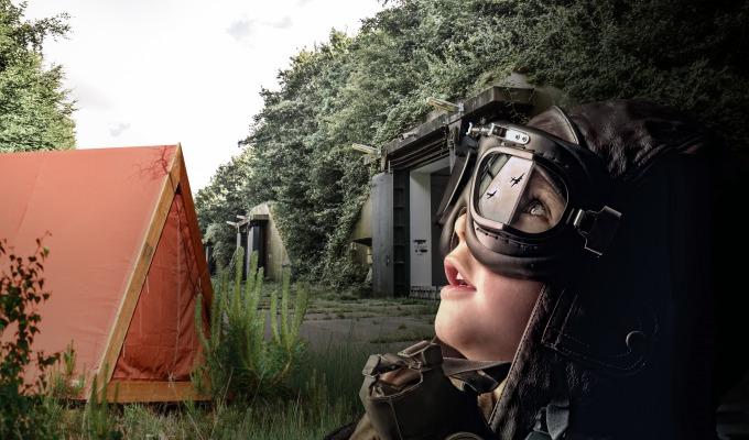 In luxe slapen tussen Koude Oorlog bunkers; Campground Twente