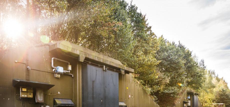 Bunkers op Vliegveld Twenthe