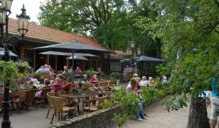 Restaurant Florilympha met midgetgolf