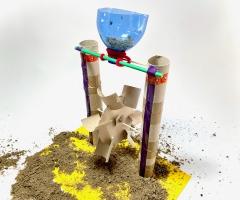 Bouw je eigen zandmolen (7-10 jaar)