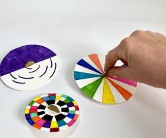 Maak een illusie met een tol (6-9 jaar)
