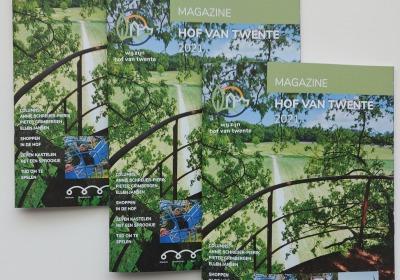 Magazine Hof van Twente 2021: Ode aan het landschap is gepresenteerd