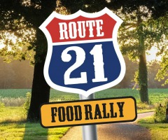 Route 21 - Food Rally
