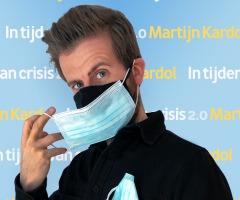 Voor Martijn Kardol blijf je thuis!