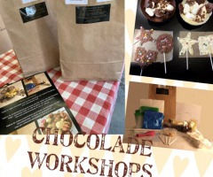 DIY workshop pakketten chocolade en mozaïeken