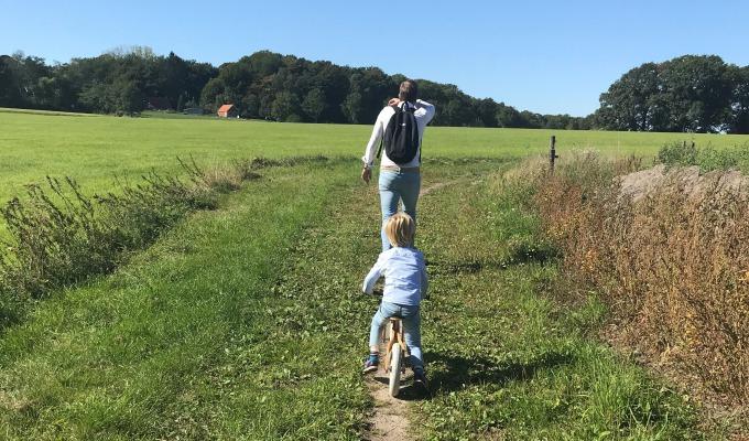 Wandelen met kinderen, korte routes anders dan anders…
