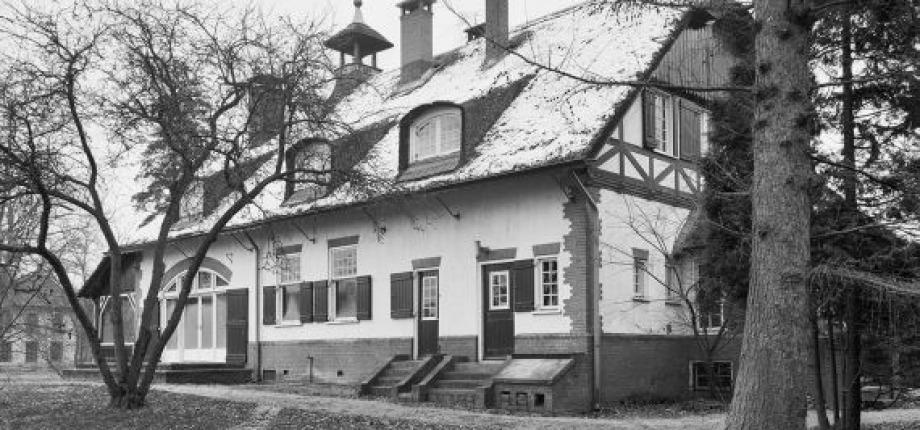 Engelse landhuisstijl bij De Borg, Beuningen
