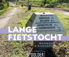 Lange fietstocht Spoolder