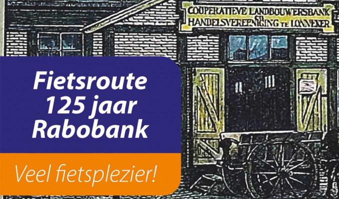 Fietsroute: 125 jaar Rabobank Enschede-Haaksbergen
