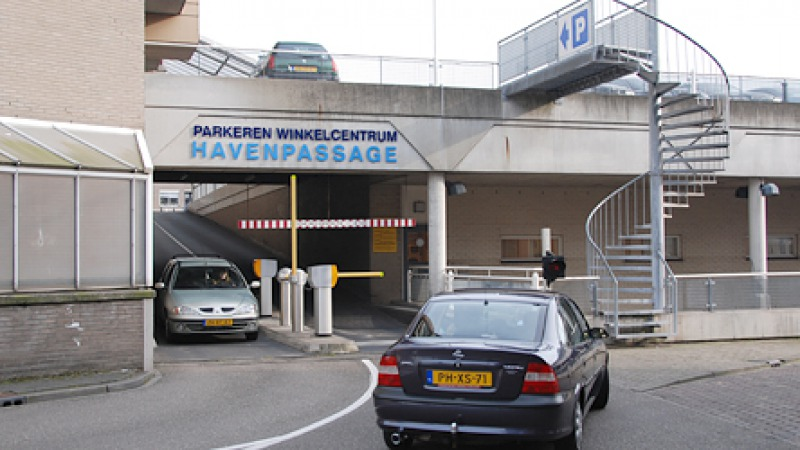 Parkeergarage Havenpassage dek P14